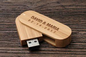 Svadobny USB klúč